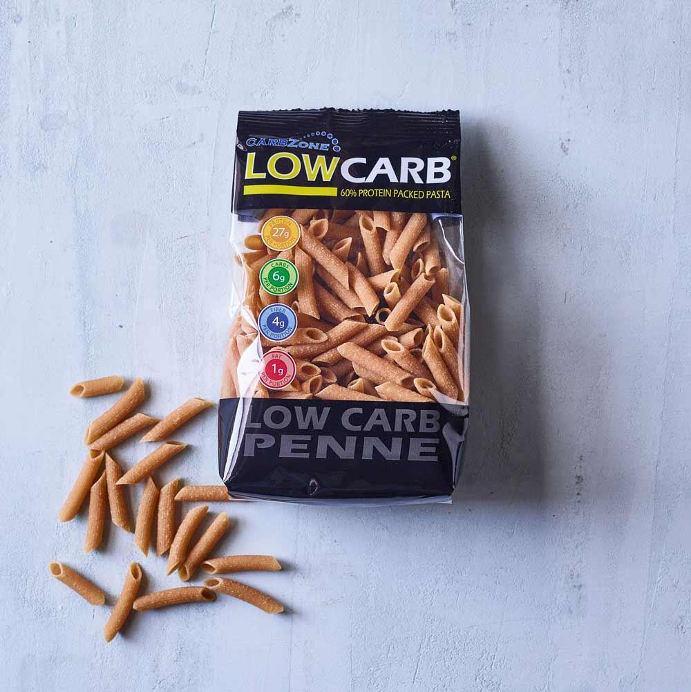 CarbZone low carb pasta penne
