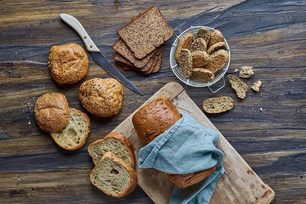 low carb brød - friskbagt