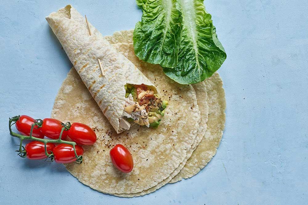 low carb tortilla wraps
